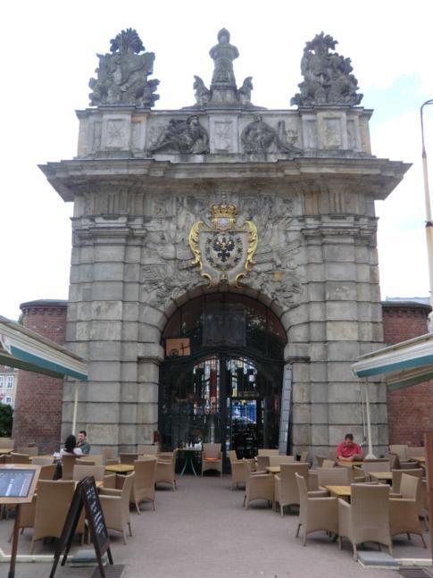 Das Königstor von Stettin