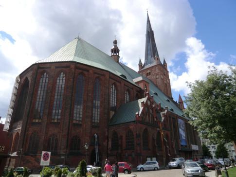 Die Jacobikirche von Stettin
