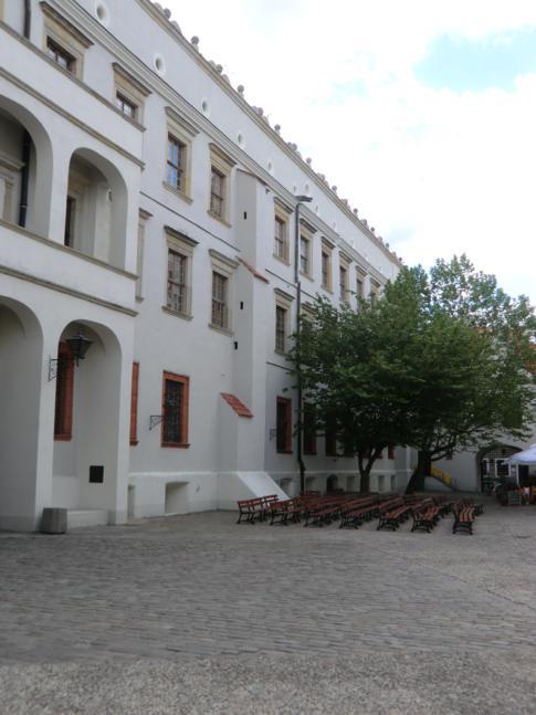 Das Schloss der Pommerschen Herzöge in Stettin