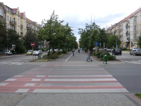 Die Promenadenstraße Jana Pawla II