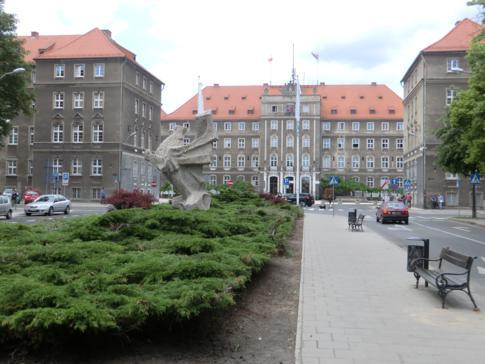 Das Stadthaus von Stettin