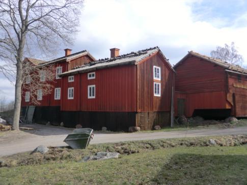 Ein altes Farmeshaus aus Schweden, nun in Skansen