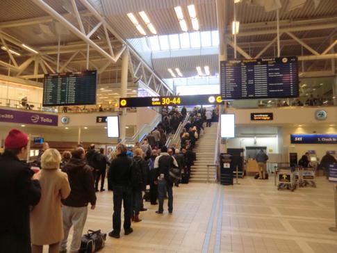 Der Flughafen Stockholm-Arlanda, hier im Bild das Terminal 4