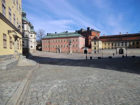 Der Birger Jarls Torg in Riddarholmen, direkt neben Gamla Stan