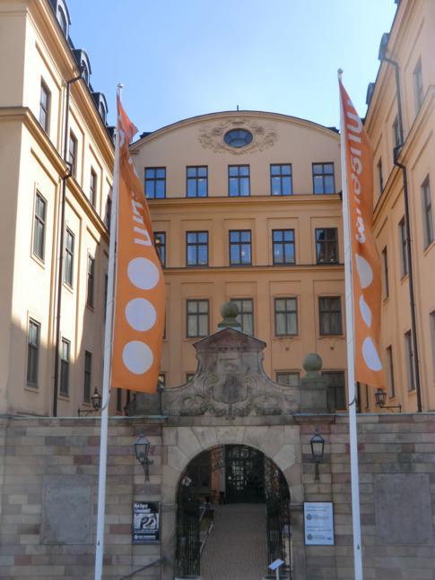Das königliche Münzkabinett in Stockholm, mitten in Gamla Stan