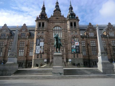 Das Nordische Museum, schon allein ein beeindruckendes Gebäude