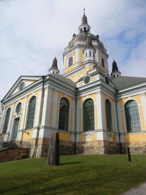 Die Stockholmer Katharinenkirche im Stadtteil Södermalm