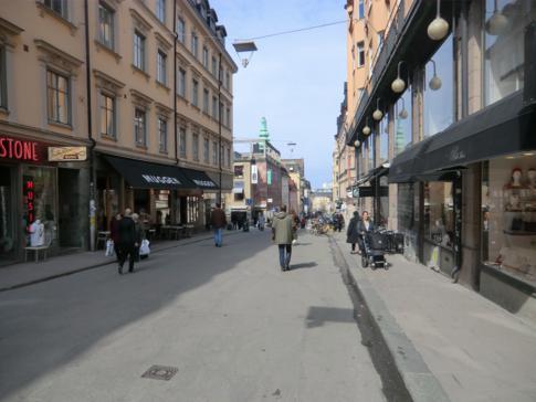 Die Götgatan, Einkaufsstraße von Södermalm