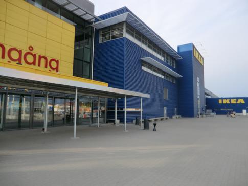 Das größte Ikea der Welt in Stockholm, Kungens Kurva