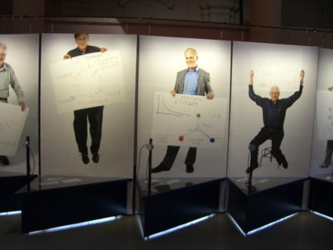 Die temporäre Ausstellung im Nobelmuseum