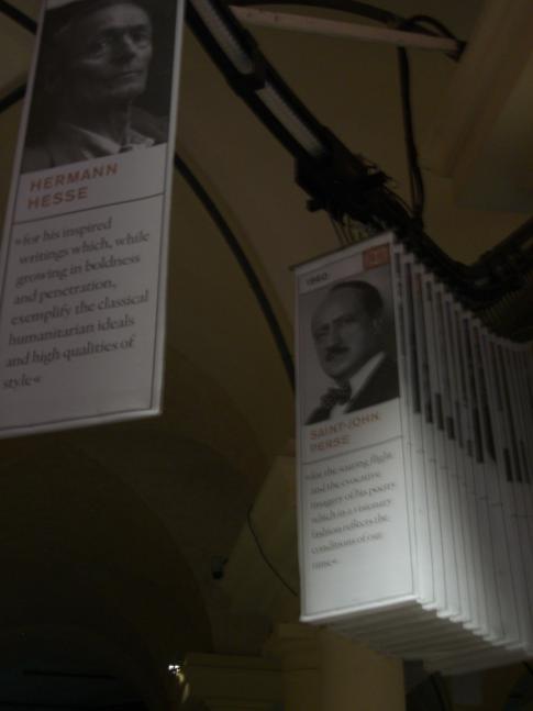 Die Nobel-Seilbahn: alle Nobelpreisträger am Stück