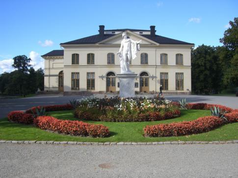 Das Schlosstheater in Drottningholm