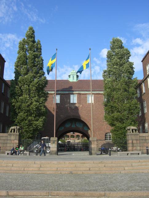 Die technische Hochschule von Stockholm