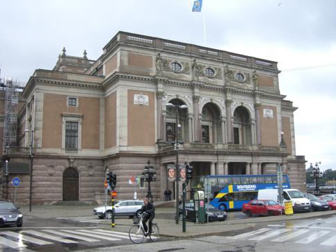 Die königliche Oper von Stockholm