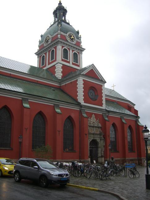 Die äußerlich sehr attraktive St. Jakobskirche