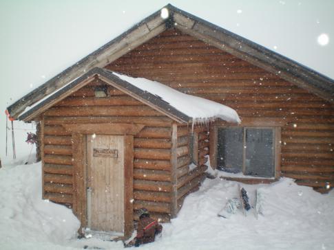 Die Bearclaw Cabin im Skigebiet Sundance in Utah