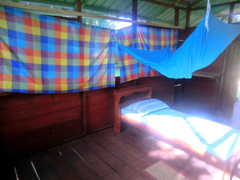 Mein Bungalow im Pingpe Jungle Resort am Suriname River