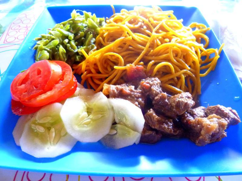Mittagessen im Pingpe Jungle Resort