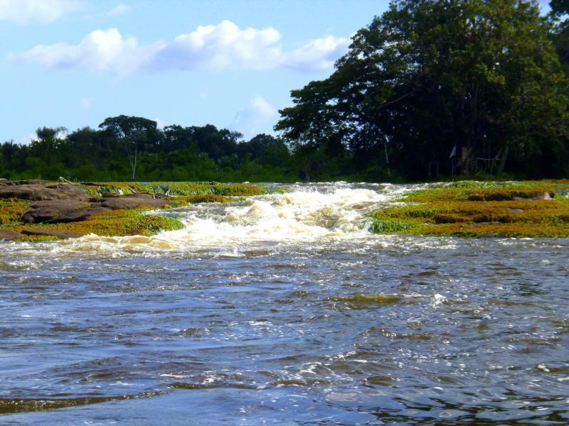 Die Tapawatra Falls am Suriname River