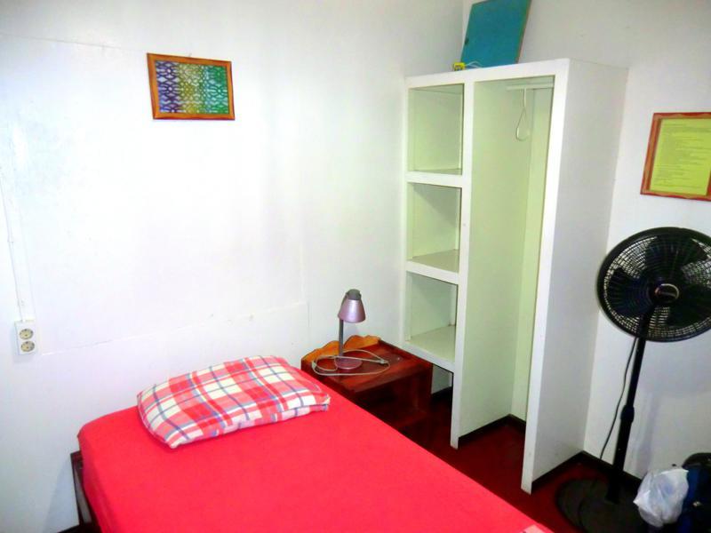 Das Guesthouse Twenty4 in Paramaribo - mein Einzelzimmer