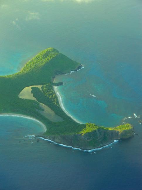 Paradiesisches Ronde Island zwischen Carriacou und Grenada
