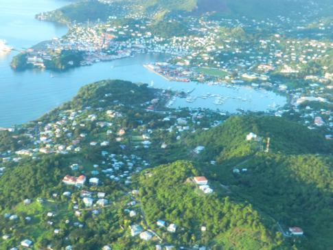Die Hauptstadt von Grenada, St. George's