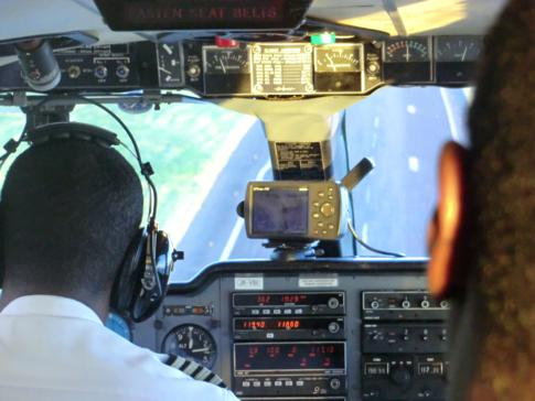 Landung mit SVG Air auf dem Maurice Bishop International Airport