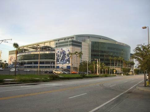 Das Tampa Bay Times Forum, Heimspielstätte des NHL-Teams Tampa Bay Lightning