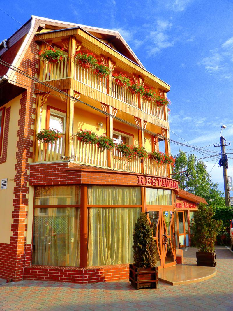 Das Hotel Darina in Targu Mures
