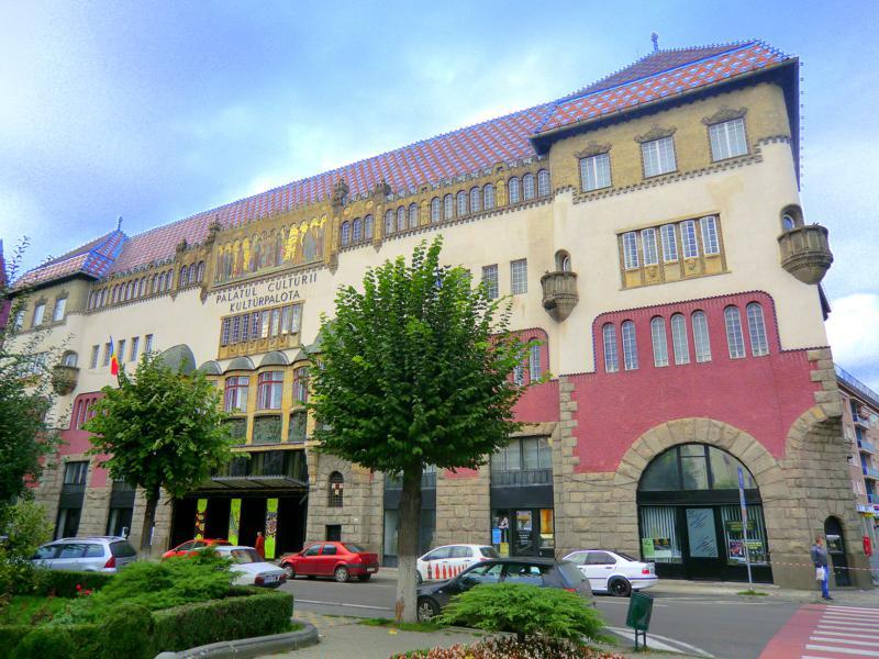 Der Kulturpalast von Targu Mures