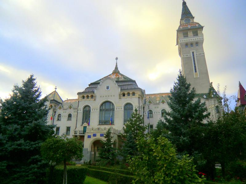 Das Alte Rathaus vom rumänischen Targu Mures