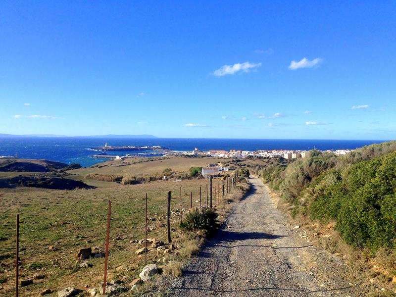 Ausblick im Parque Natural del Estrecho auf Tarifa