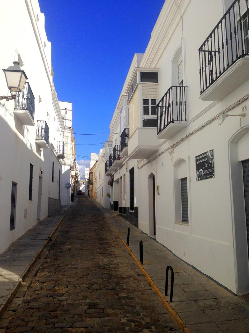 Die superhübsche Altstadt von Tarifa im Süden von Andalusien
