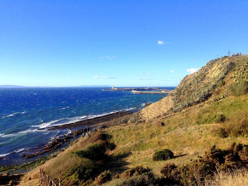 Wanderung im Parque Natural del Estrecho in der Nähe von Tarifa