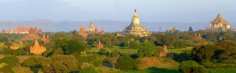 Bericht über die Unesco-Tempel von Bagan in Myanmar