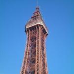 Der Blackpool Tower als eine tolle Attraktion im Westen von England