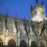 Das Bath Abbey - Teil des Reiseberichts über Bristol und Bath