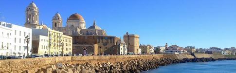 Impressionen und Fotos aus Cadiz im Süden von Andalusien in Spanien