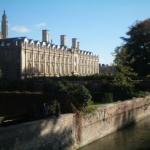 Ein Reisebericht über Cambridge - hier im Bild das Claire College