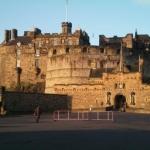 Das Edinburgh Castle, u.a. Bestandteil des Reiseberichts über Edinburgh