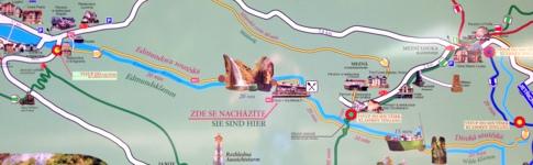 Kleiner Guide zu Kahnfahrt und Wanderungen in der Edmundsklamm und Wilden Klamm
