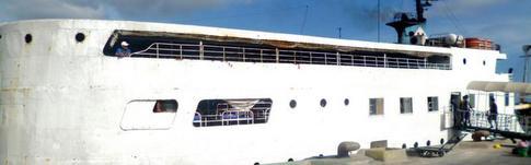 Ausführlicher Bericht über die Fährfahrt von Puerto Princesa nach Iloilo in den Philippinen