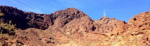 Bericht über die Wanderung zum Gold Strike Hot Springs Trail nahe Las Vegas