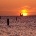 Einige Eindrücke vom Grand Anse Beach am Abend