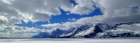 Bericht über eine traumhafte Winterlandschaft im Grand Teton National Park in Wyoming