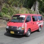 Bericht und Erfahrungen über Minibus und Sammeltaxi in Grenada