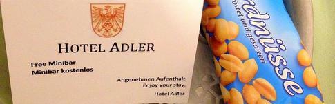 Hotelbewertung über das Hotel Adler in Frankfurt