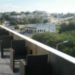 Die Dachterrasse des Hotel Velamar, über welches hier ebenfalls eine Bewertung zu finden ist.