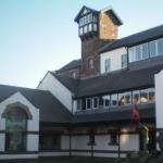 Das House of Manannan in Peel, dem Zentrum im Westen der Isle of Man