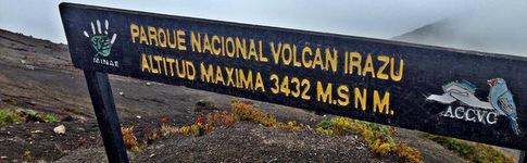 Bericht über den Nationalpark Irazú, den höchsten Vulkan in Costa Rica